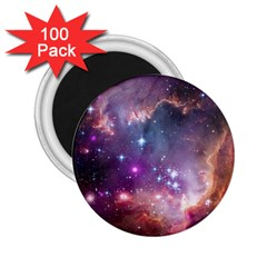 Galaxy Space Star Light Purple 2 25  Magnets (100 Pack)  by Mariart