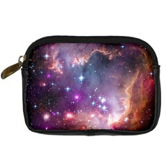 Galaxy Space Star Light Purple Digital Camera Cases by Mariart