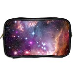 Galaxy Space Star Light Purple Toiletries Bags 2-Side Back