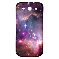 Galaxy Space Star Light Purple Samsung Galaxy S3 S Iii Classic Hardshell Back Case by Mariart