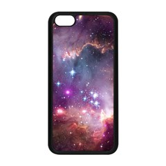 Galaxy Space Star Light Purple Apple Iphone 5c Seamless Case (black) by Mariart