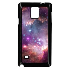 Galaxy Space Star Light Purple Samsung Galaxy Note 4 Case (black) by Mariart