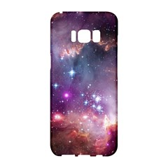 Galaxy Space Star Light Purple Samsung Galaxy S8 Hardshell Case  by Mariart