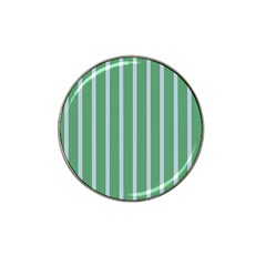 Green Line Vertical Hat Clip Ball Marker (10 Pack) by Mariart