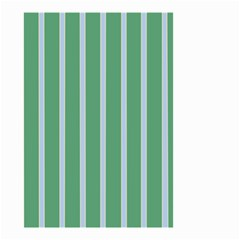 Green Line Vertical Small Garden Flag (two Sides)