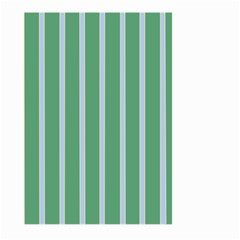 Green Line Vertical Large Garden Flag (two Sides) by Mariart