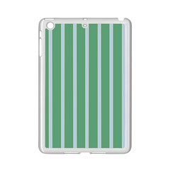 Green Line Vertical Ipad Mini 2 Enamel Coated Cases by Mariart