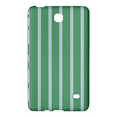 Green Line Vertical Samsung Galaxy Tab 4 (8 ) Hardshell Case  by Mariart