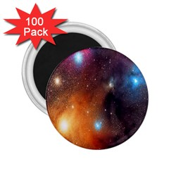 Galaxy Space Star Light 2 25  Magnets (100 Pack)  by Mariart