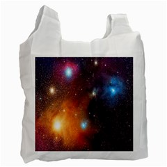 Galaxy Space Star Light Recycle Bag (one Side) by Mariart
