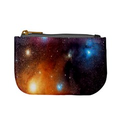 Galaxy Space Star Light Mini Coin Purses by Mariart