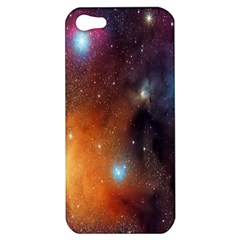Galaxy Space Star Light Apple Iphone 5 Hardshell Case by Mariart