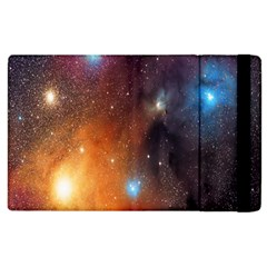 Galaxy Space Star Light Apple Ipad 2 Flip Case by Mariart