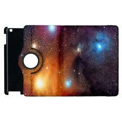 Galaxy Space Star Light Apple Ipad 3/4 Flip 360 Case