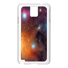 Galaxy Space Star Light Samsung Galaxy Note 3 N9005 Case (white) by Mariart