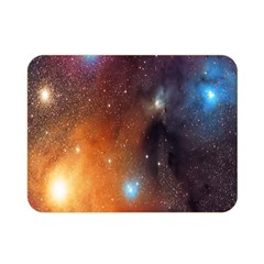 Galaxy Space Star Light Double Sided Flano Blanket (mini)  by Mariart