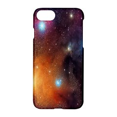 Galaxy Space Star Light Apple Iphone 7 Hardshell Case by Mariart