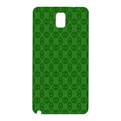 Green Seed Polka Samsung Galaxy Note 3 N9005 Hardshell Back Case by Mariart