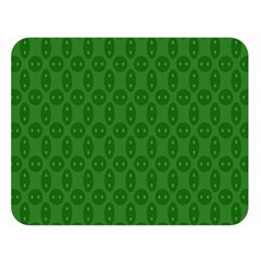Green Seed Polka Double Sided Flano Blanket (large)  by Mariart
