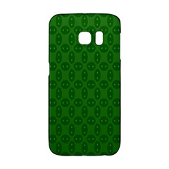 Green Seed Polka Galaxy S6 Edge by Mariart