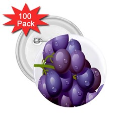 Grape Fruit 2 25  Buttons (100 Pack)  by Mariart