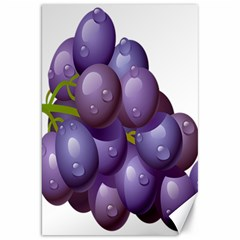 Grape Fruit Canvas 20  X 30   by Mariart