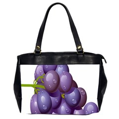 Grape Fruit Office Handbags (2 Sides)  by Mariart