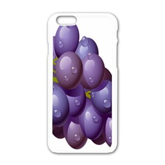 Grape Fruit Apple Iphone 6/6s White Enamel Case by Mariart