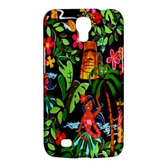 Hawaiian Girls Black Flower Floral Summer Samsung Galaxy Mega 6 3  I9200 Hardshell Case by Mariart