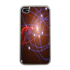 Highest Resolution Version Space Net Apple Iphone 4 Case (clear) by Mariart