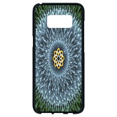 Hipnotic Star Space White Green Samsung Galaxy S8 Black Seamless Case by Mariart