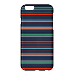 Horizontal Line Blue Green Apple Iphone 6 Plus/6s Plus Hardshell Case by Mariart