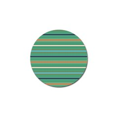 Horizontal Line Green Red Orange Golf Ball Marker (10 Pack) by Mariart