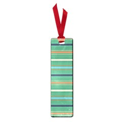 Horizontal Line Green Red Orange Small Book Marks by Mariart