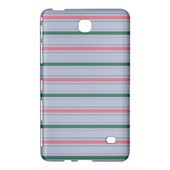 Horizontal Line Green Pink Gray Samsung Galaxy Tab 4 (8 ) Hardshell Case  by Mariart