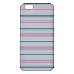 Horizontal Line Green Pink Gray Iphone 6 Plus/6s Plus Tpu Case by Mariart