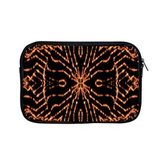 Golden Fire Pattern Polygon Space Apple Ipad Mini Zipper Cases by Mariart
