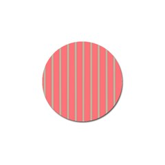Line Red Grey Vertical Golf Ball Marker (4 Pack) by Mariart