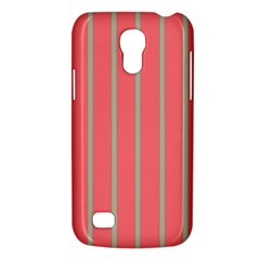 Line Red Grey Vertical Galaxy S4 Mini by Mariart