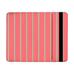 Line Red Grey Vertical Samsung Galaxy Tab Pro 8 4  Flip Case by Mariart