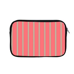 Line Red Grey Vertical Apple Macbook Pro 13  Zipper Case by Mariart