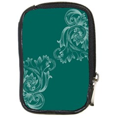Leaf Green Blue Sexy Compact Camera Cases by Mariart