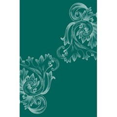 Leaf Green Blue Sexy 5 5  X 8 5  Notebooks by Mariart
