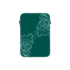 Leaf Green Blue Sexy Apple Ipad Mini Protective Soft Cases by Mariart