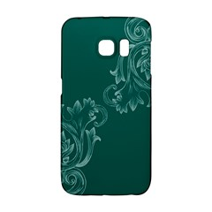 Leaf Green Blue Sexy Galaxy S6 Edge by Mariart