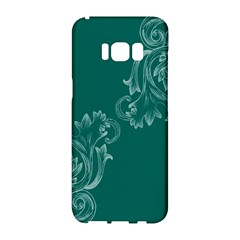 Leaf Green Blue Sexy Samsung Galaxy S8 Hardshell Case