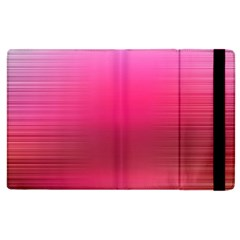 Line Pink Space Sexy Rainbow Apple Ipad 3/4 Flip Case by Mariart