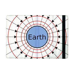 Magnetik Earth s Gravitational Line Triangle Ipad Mini 2 Flip Cases by Mariart