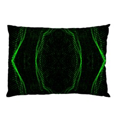 Green Foam Waves Polygon Animation Kaleida Motion Pillow Case by Mariart