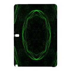 Green Foam Waves Polygon Animation Kaleida Motion Samsung Galaxy Tab Pro 12 2 Hardshell Case by Mariart